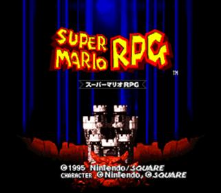 Super Mario RPG: Legend of the Seven Stars - Screenshot - Game Title