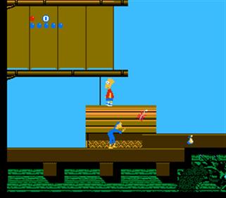 The Simpsons: Bart vs. the World - Screenshot - Gameplay