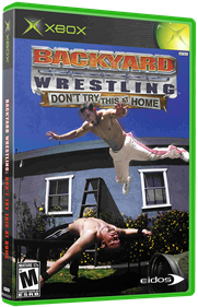 Backyard Wrestling: Don't Try This at Home - Box - 3D