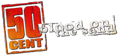 50 Cent: Blood on the Sand - Clear Logo