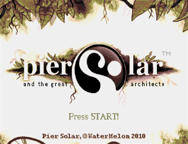 Pier Solar and the Great Architects - Screenshot - Game Title