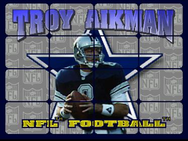 Troy Aikman NFL Football - Screenshot - Game Title