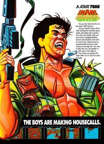 Ikari Warriors - Advertisement Flyer - Front