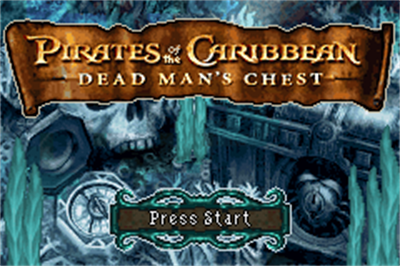 Pirates of the Caribbean: Dead Man's Chest - Screenshot - Game Title