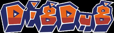 Dig Dug - Clear Logo