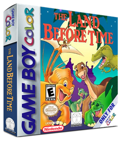 The Land Before Time - Box - 3D