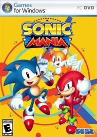 Sonic Mania - Fanart - Box - Front