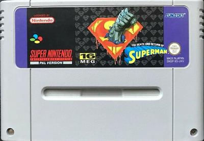 The Death and Return of Superman - Cart - Front