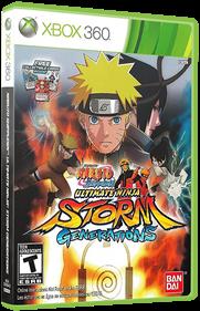 Naruto Shippuden: Ultimate Ninja Storm Generations - Box - 3D