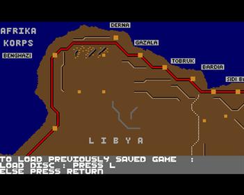 Afrika Korps - Screenshot - Game Title