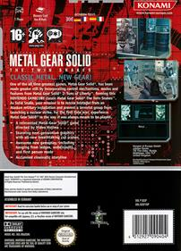 Metal Gear Solid: The Twin Snakes - Box - Back
