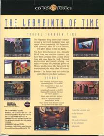 The Labyrinth of Time - Box - Back