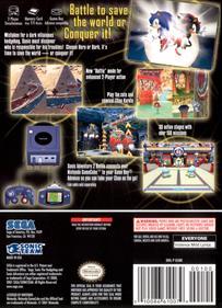 Sonic Adventure 2: Battle - Box - Back