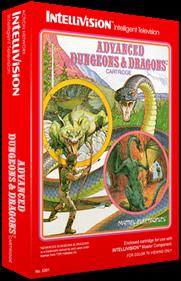 Advanced Dungeons & Dragons: Cloudy Mountain - Box - 3D
