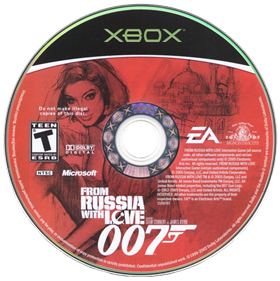 007: From Russia with Love - Disc