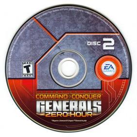 Command & Conquer: Generals: Zero Hour - Disc