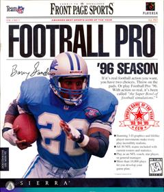 Front Page Sports: Football Pro '96 Season