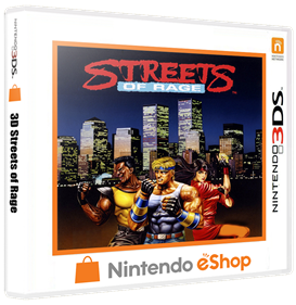 3D Streets of Rage - Box - 3D