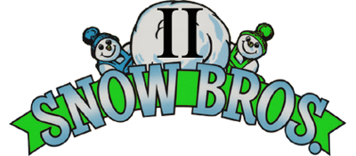 Snow Bros. 2: With New Elves - Clear Logo