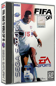 FIFA: Road to World Cup 98 - Box - 3D