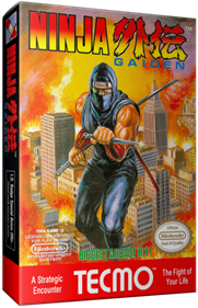 Ninja Gaiden - Box - 3D