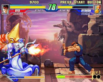 Capcom Fighting Evolution - Screenshot - Gameplay