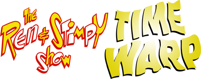 The Ren & Stimpy Show: Time Warp - Clear Logo
