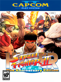 Hyper Street Fighter II: The Anniversary Edition - Fanart - Box - Front