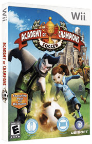 Academy of Champions: Soccer - Box - 3D