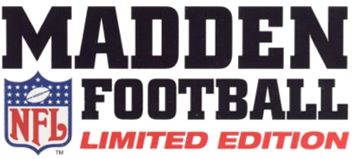 Madden NFL Football: Limited Edition  - Clear Logo