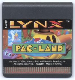 Pac-Land - Cart - Front