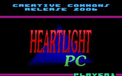 Heartlight - Screenshot - Game Title