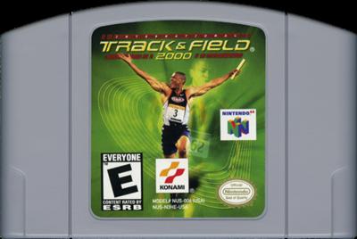 International Track & Field 2000 - Cart - Front
