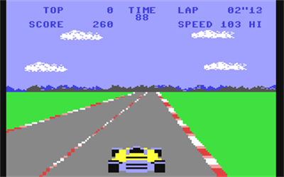 Pole Position - Screenshot - Gameplay