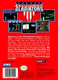 American Gladiators - Box - Back