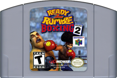Ready 2 Rumble Boxing: Round 2 - Cart - Front