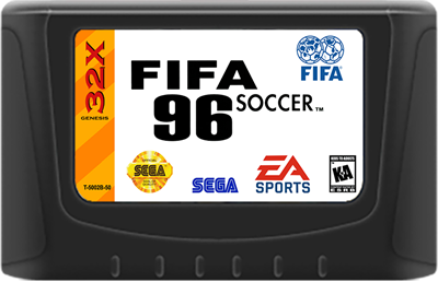 FIFA Soccer 96 - Fanart - Cart - Front