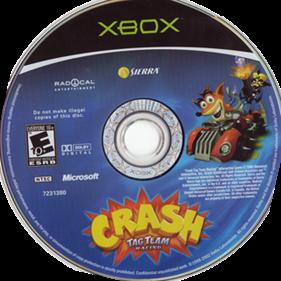Crash Tag Team Racing - Disc