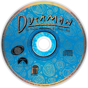 Duckman: The Graphic Adventures of a Private Dick - Disc