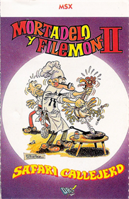 Mortadelo y Filemon II: Safari Callejero