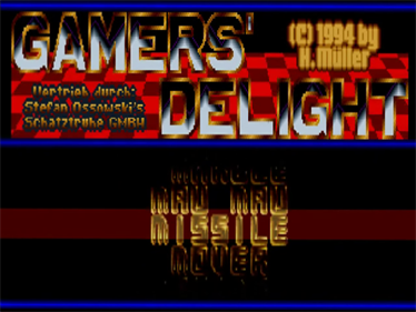 Gamers' Delight - Screenshot - Game Title