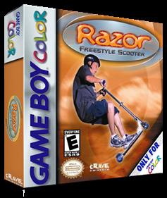 Razor: Freestyle Scooter - Box - 3D