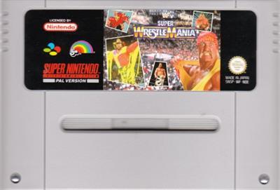 WWF Super WrestleMania - Cart - Front