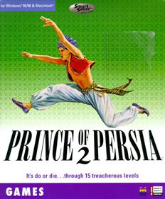 Prince of Persia 2: The Shadow & The Flame - Box - Front