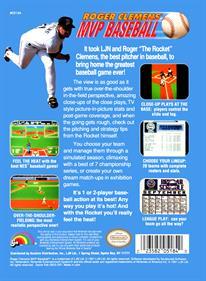 Roger Clemens' MVP Baseball - Box - Back