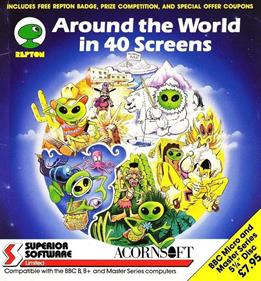 Around the World in 40 Screens - Box - Front