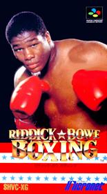 Riddick Bowe Boxing - Box - Front