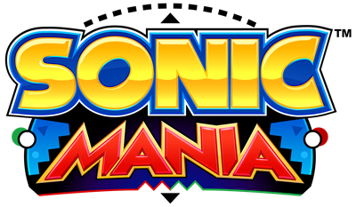 Sonic Mania - Clear Logo