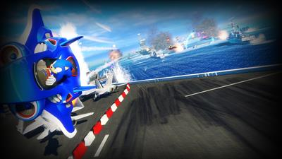 Sonic & All-Stars Racing Transformed - Fanart - Background
