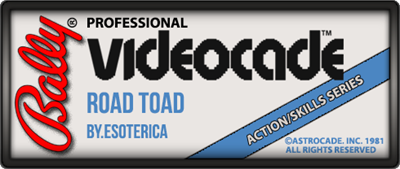 Road Toad - Clear Logo